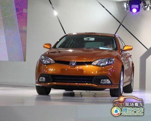 [现场看车]MG6车展首发 明年1月份上市