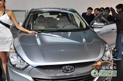 [现场看车]现代iX35中国首发 明年国产