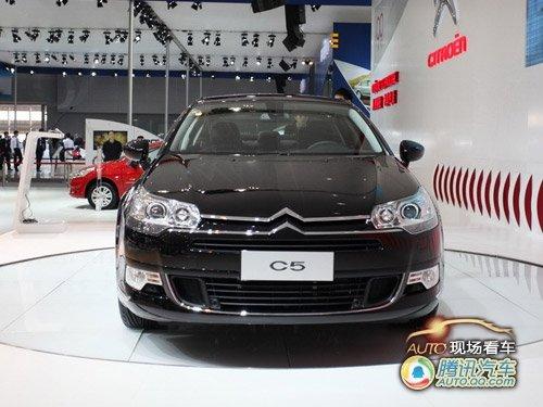 [现场看车]大气内敛 国产新C5车展上市