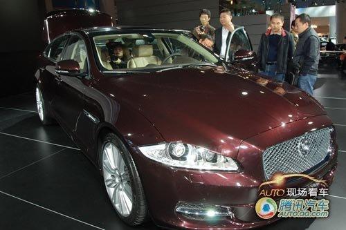[现场看车]英伦豪华 捷豹全新XJ中国首发