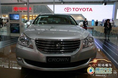 [现场看车]新皇冠车展亮相 瞄准高端市场