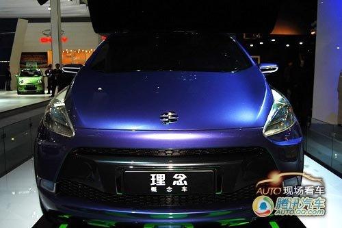 [现场看车]广汽理念概念车SUV版车展首发
