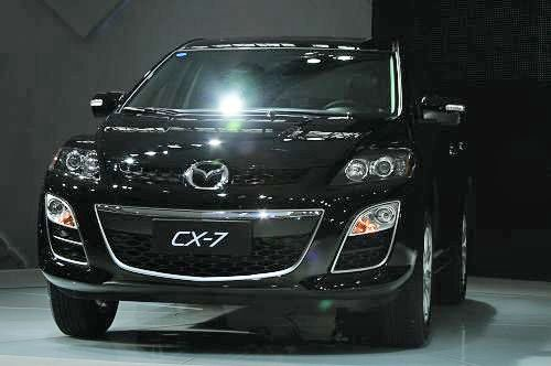 全新马自达CX-7广州车展上市 售28.8万元
