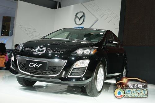 [现场看车]马自达进口跨界车CX-7售28.8万