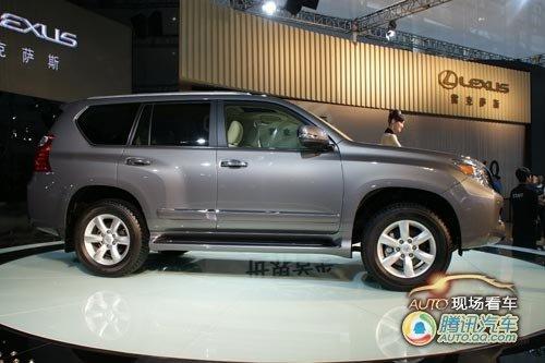 [现场看车]雷克萨斯第二代GX460全球首发