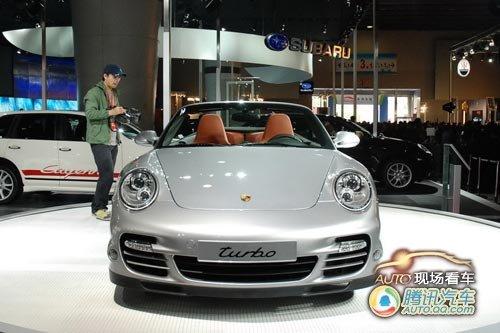 [现场看车]改款911 Turbo敞篷售226.72万起