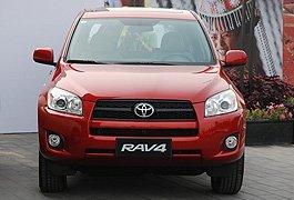 年度市场表现最佳车型:一汽丰田RAV4