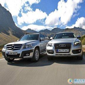 涡轮增压与V6对决 试驾奥迪Q5与奔驰GLK_车周刊_腾讯汽车