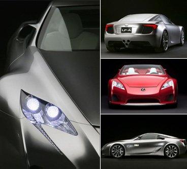 雷克萨斯LF-A上市售598.8万 国内仅售20台_车周刊_腾讯汽车