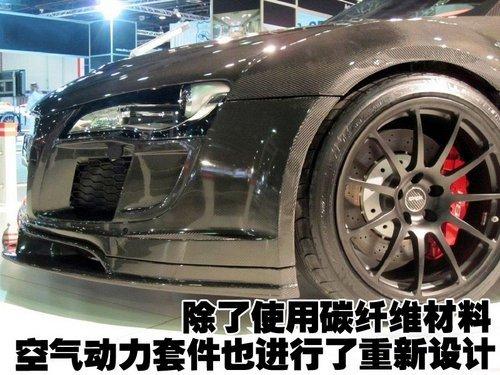 豁贵的奥迪R8改装 迪拜车展上的盛宴
