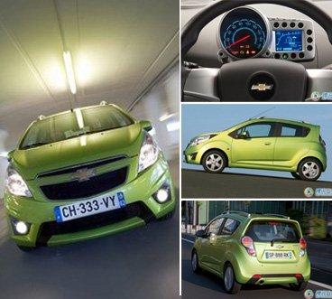 微型车设计楷模 试驾2012款雪佛兰乐驰_车周刊_腾讯汽车