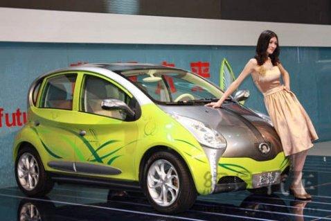 欧拉电动车将于2012年正式量产高清图片