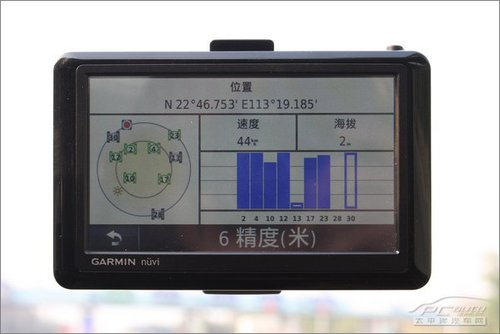 导航新贵族 任我游GPS 1480C路测