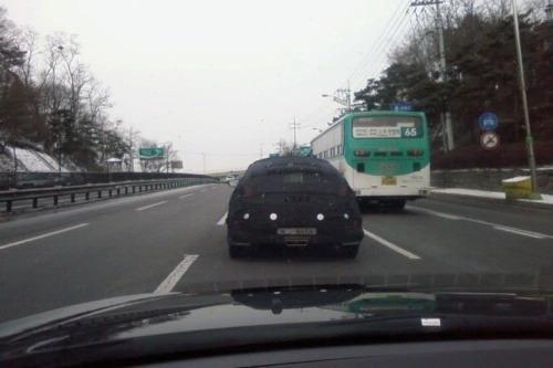 2012款现代Veloster韩国路试谍照曝光