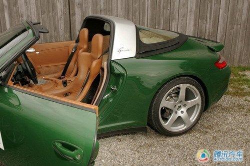 超跑也电动 试驾2011款电动版保时捷911