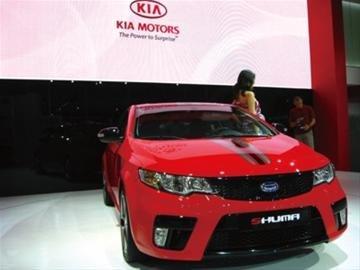 进口起亚引入中国首款双门轿跑SHUMA
