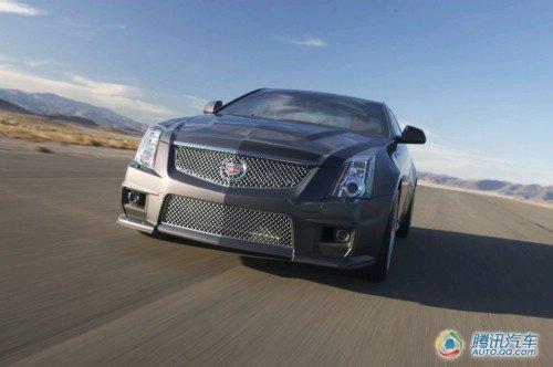 百公里加速3.9秒 凯迪拉克CTS-V轿跑发布
