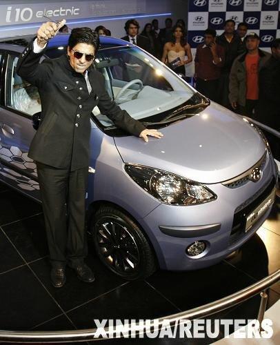 宝莱坞影星助阵印度汽车展 力举环保汽车