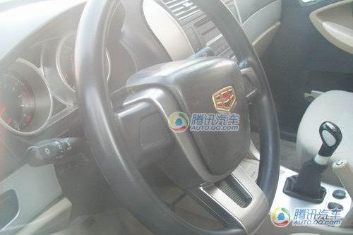 吉利首款SUV无伪谍照首曝 预计8月份上市