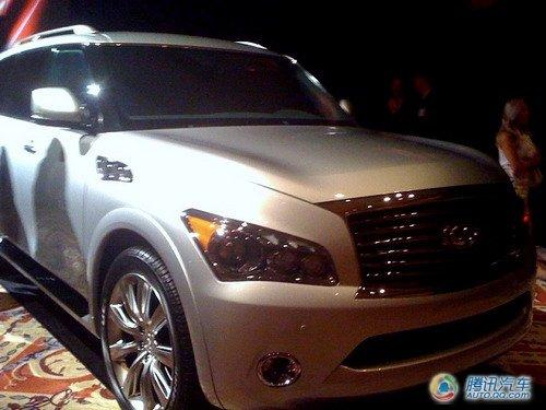 2011款英菲尼迪QX56将亮相纽约车展