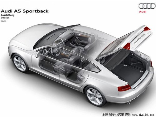 奥迪A5 Sportback将入华 在北京车展上市