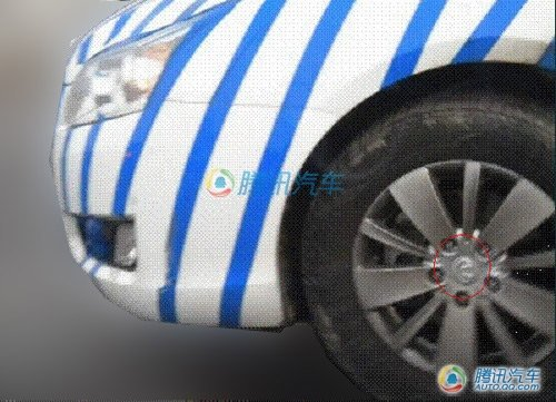 华泰首款轿车谍照曝光 北京车展正式亮相
