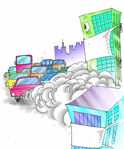 国家研究向机动车征收环境税 按排放量缴费