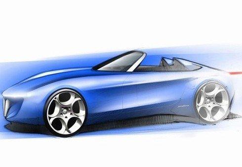 亮相日内瓦 阿尔法罗密欧Spider概念车