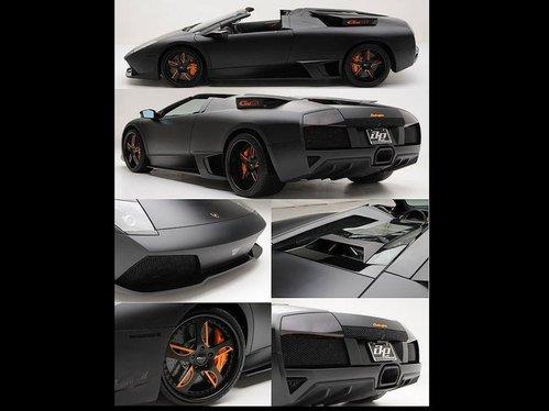 改装限量版 消光黑蝙蝠LP650-4Roadster