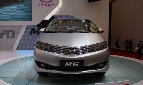 定位高端商务MPV 比亚迪M6预计售价10万起