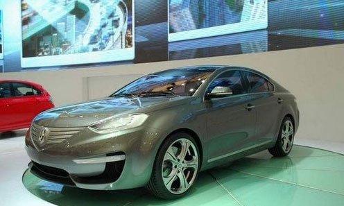 或北京车展亮相 长安中级车设计图曝光