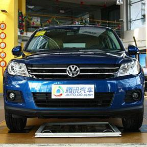 [新车实拍]上海大众途观1.8TSI都会版到店 _车周刊_腾讯汽车