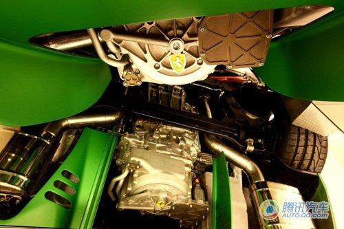 法拉利599混合动力版曝光 将亮相日内瓦