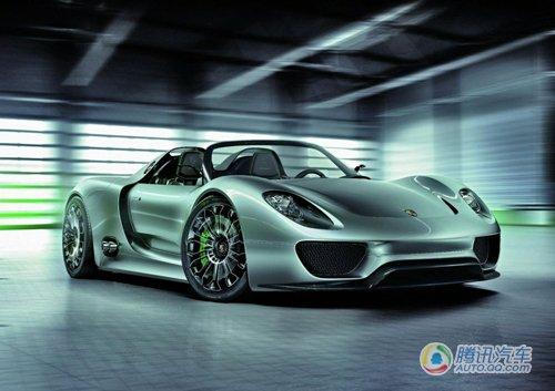 保时捷日内瓦车展前发布918 Spyder概念车