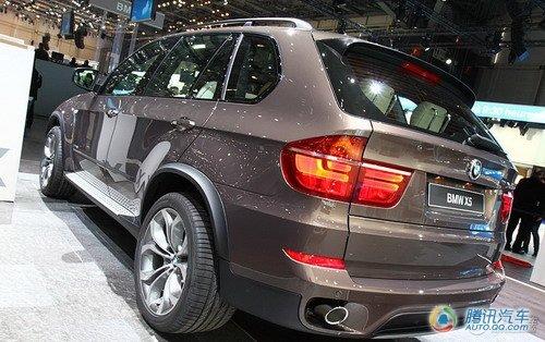 2011款宝马X5日内瓦车展发布 售4.4万英镑