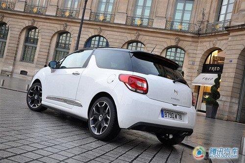 个性法国精灵 试驾雪铁龙创新小型车DS3