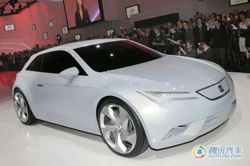 西亚特发布IBE电动概念车 百公里加速9.4秒