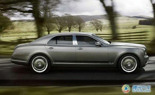 宾利在日内瓦车展发布豪华车Mulsanne