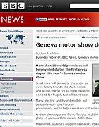 2010日内瓦车展 外媒观点 BBC