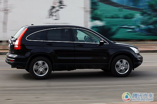 内外兼修的小改款 腾讯汽车试驾新CR-V