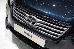 前脸趋于统一 丰田新款RAV4实车亮相(图)