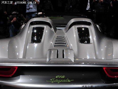 高性能环保动力 保时捷918 Spyder介绍