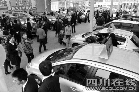 虎年第一车展 购车的女性占到40%以上