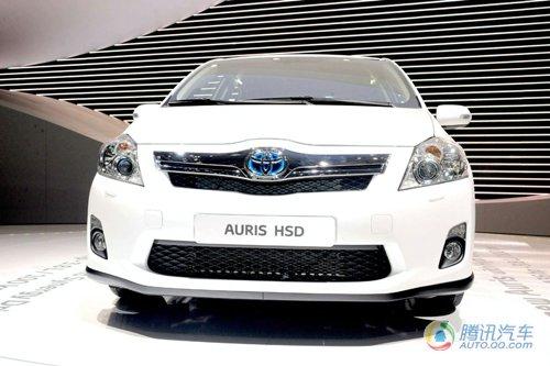 量产版丰田Auris HSD亮相 上半年欧洲上市