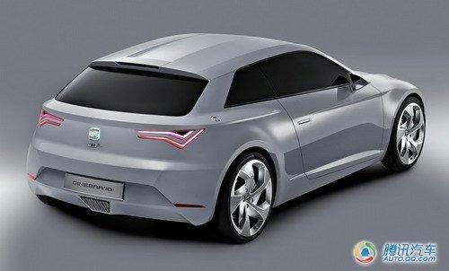 试水新能源车 西亚特IBE概念车或将量产