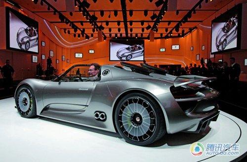 反响强烈 保时捷考虑量产918 Spyder概念车