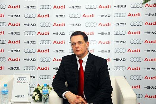 唐迈:2010北京车展奥迪将展示三款新车