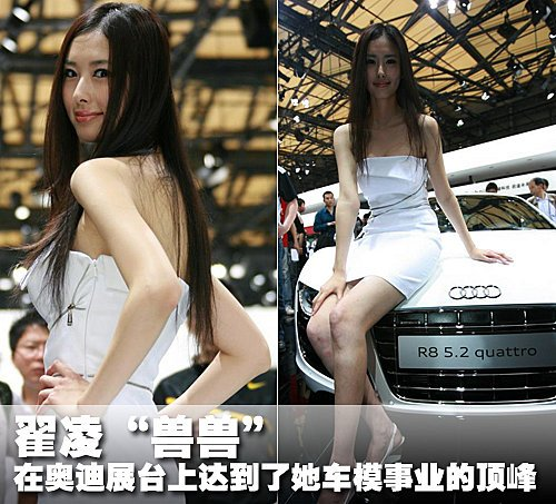 车模兽兽遭大众遗弃 或将告别北京车展