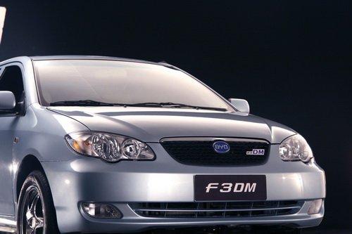 比亚迪F3DM低碳版将上市 车顶太阳能充电高清图片