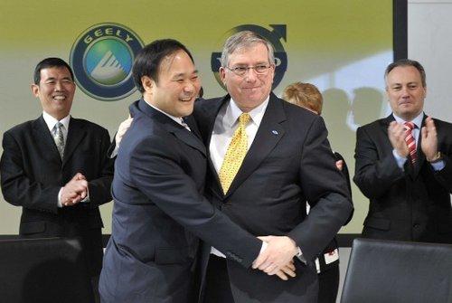 吉利18亿美元收购沃尔沃轿车100股权 - YU QI - YUQI SPACE